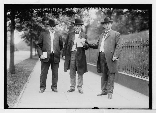 Gov. Ansel, South Carolina; Gov. Buchtel, Colo.; Gov. Folk, Missouri, Washington