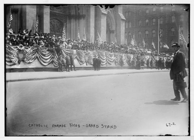 Grand Stand, Catholic Centenary, New York