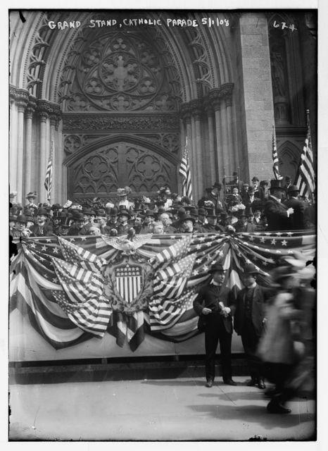Grand Stand, Catholic Parade, New York