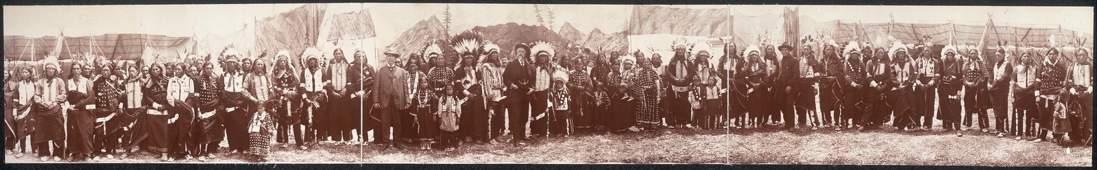 [Group of American Indians]