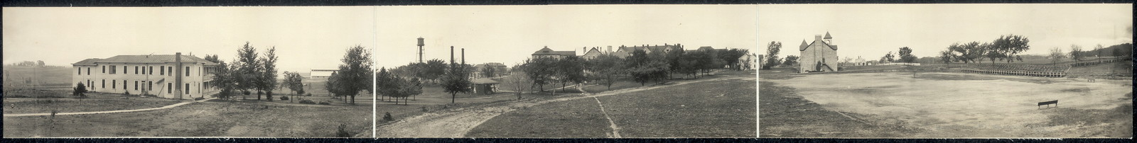 Haskell Institute, Lawrence, Kansas, general view from north-east