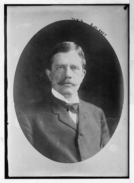 H.M. Hoyt, cameo portr.