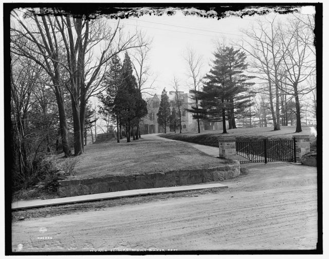 [Home of Mrs. Mary Baker Eddy, Brookline, Mass.]