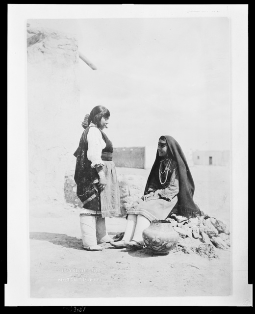 Indian maidens gossiping