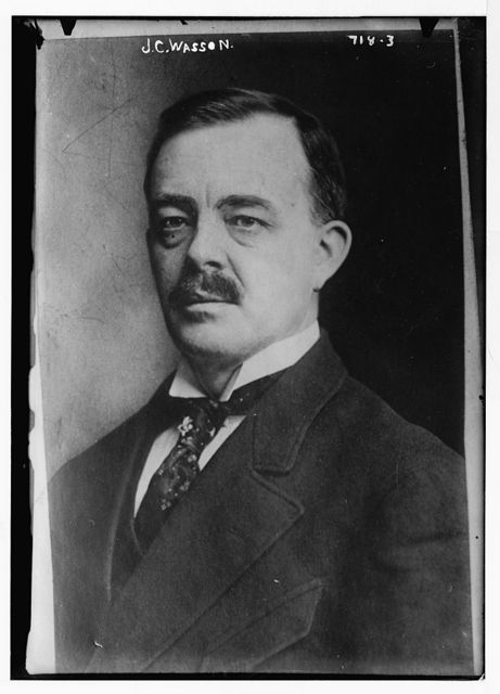 J.C. Wasson, portr.