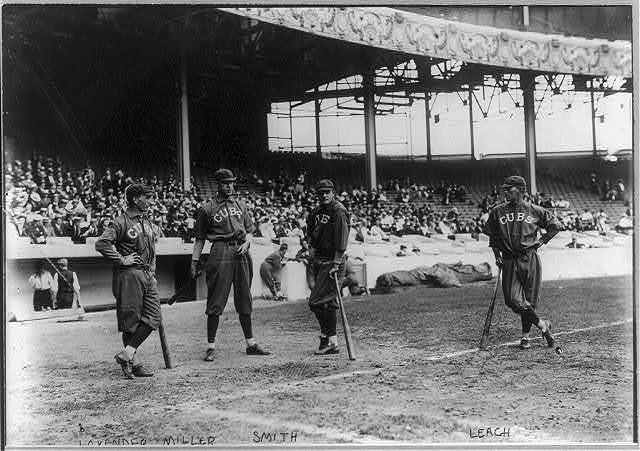 [Jimmy Lavender, Ward Miller, Charlie Smith, and Tommy Leach, Chicago NL (baseball)]