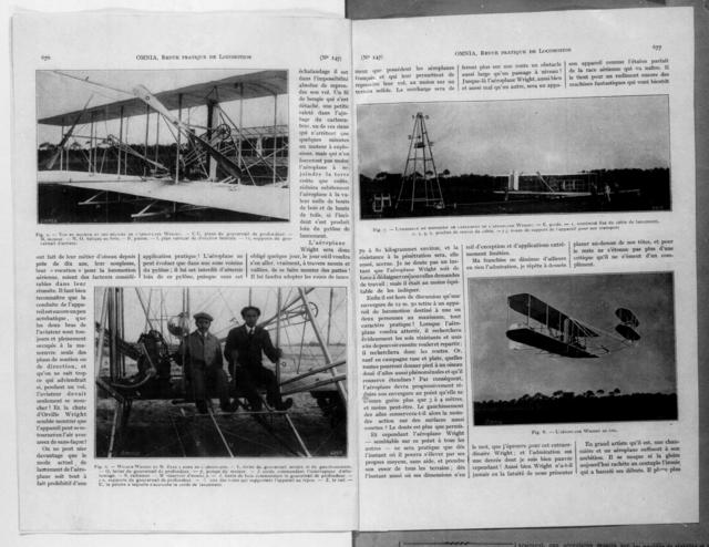 L'aeroplane Wright [Omnia, Revue Pratique de Locomotion, 24 October 1908]