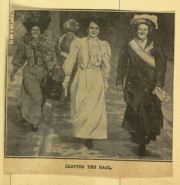 Leaving the Gaol