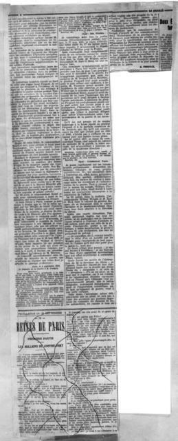 Les Negotiations avec Les Wright [Le Journal, 20 September 1908]