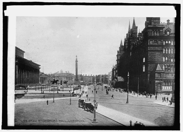Lime St. & St. Georges Hall, Liverpool