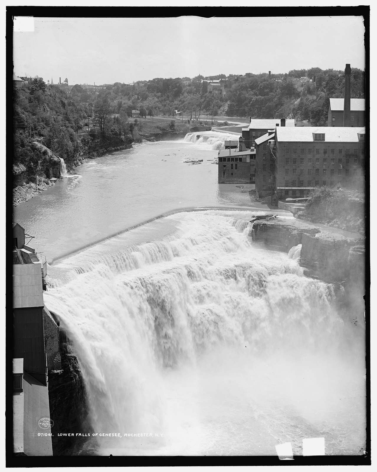 Lower i.e. Upper falls of Genesee, Rochester, N.Y