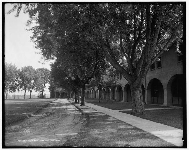 Lower post, Fort Snelling, Minn.