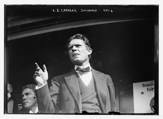 L.S. Chanler [speaking on his candidacy for Gov.] Southhold