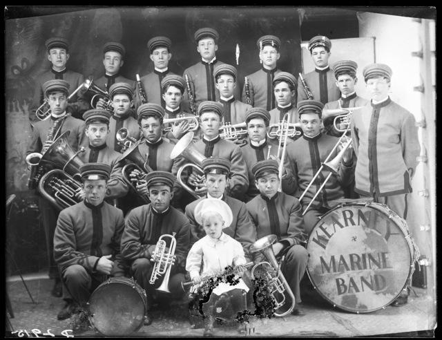 Marine band, Kearney, Nebraska.