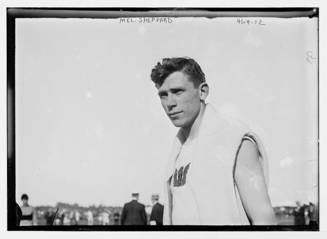 Mel Sheppard, athlete, [Y.M.C.A., Brooklyn]