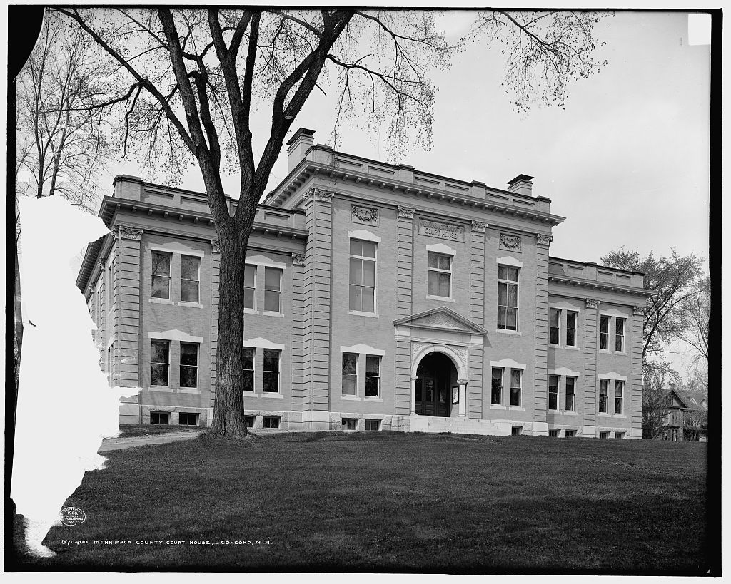 Merrimack County Court House, Concord, N.H.