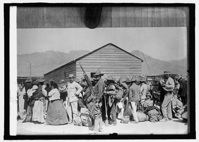 Mexican Detention Camp