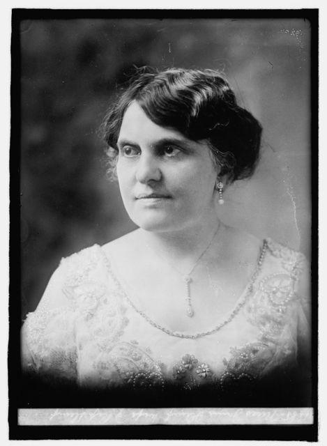 Miss Janie Slemp, wife of Rep. Slemp