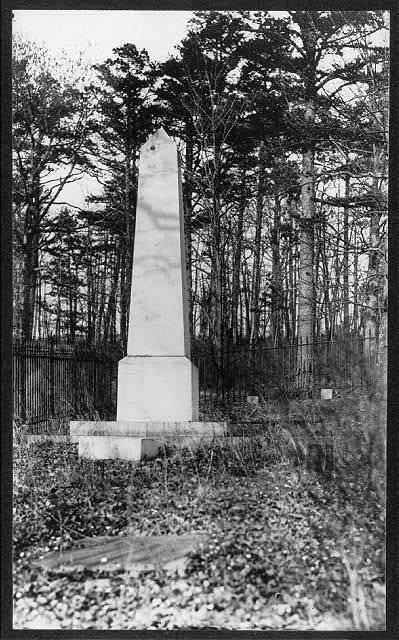 Monument to Thomas Jefferson, Monticello, Va.