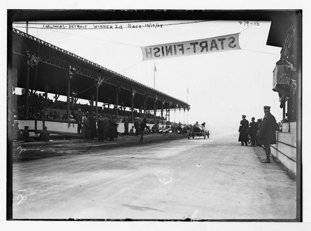 [Motor Parkway Auto Race] Chalmers - Detroit, winner 2d race