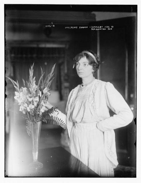 Mrs. Henry Farman