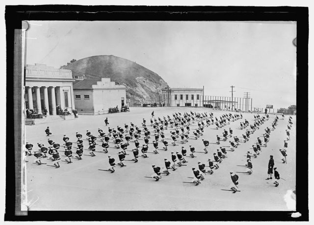 Naval training station, Yerba Buena, Cal.