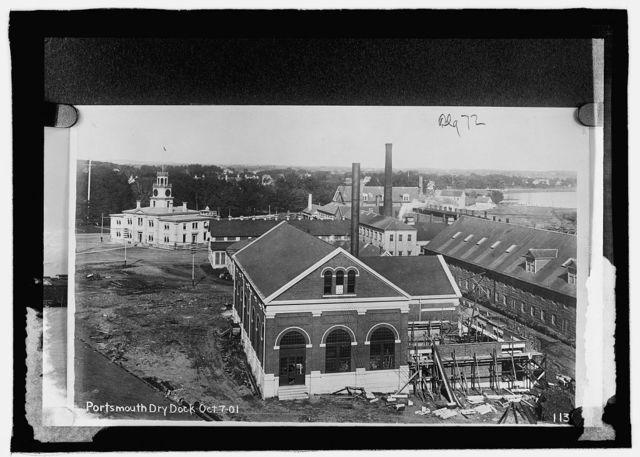 Navy Yard, Portsmouth, N.H. dry docks