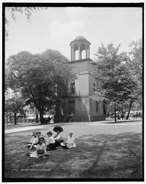 Old bell tower, Richmond, Va.