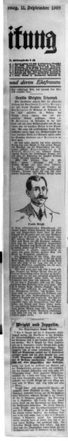 Orville Wrights Triumph [11 December 1908]