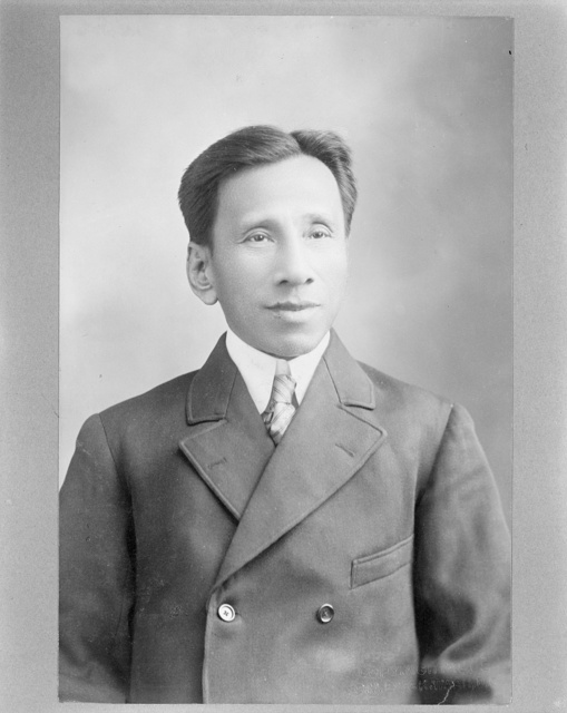 [Pablo Ocampo, Resident Commissioner to the United States from the Philippine Islands] / G. V. Buck, Wash. D.C.