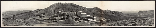 Panorama of Montgomery Shoshone Mine