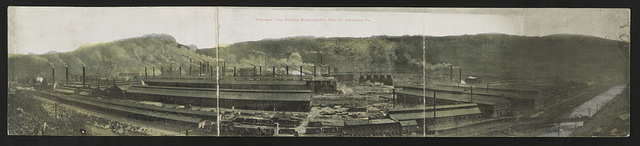 Panoramic view Franklin Works, Cambria Steel Co., Johnstown, Pa.