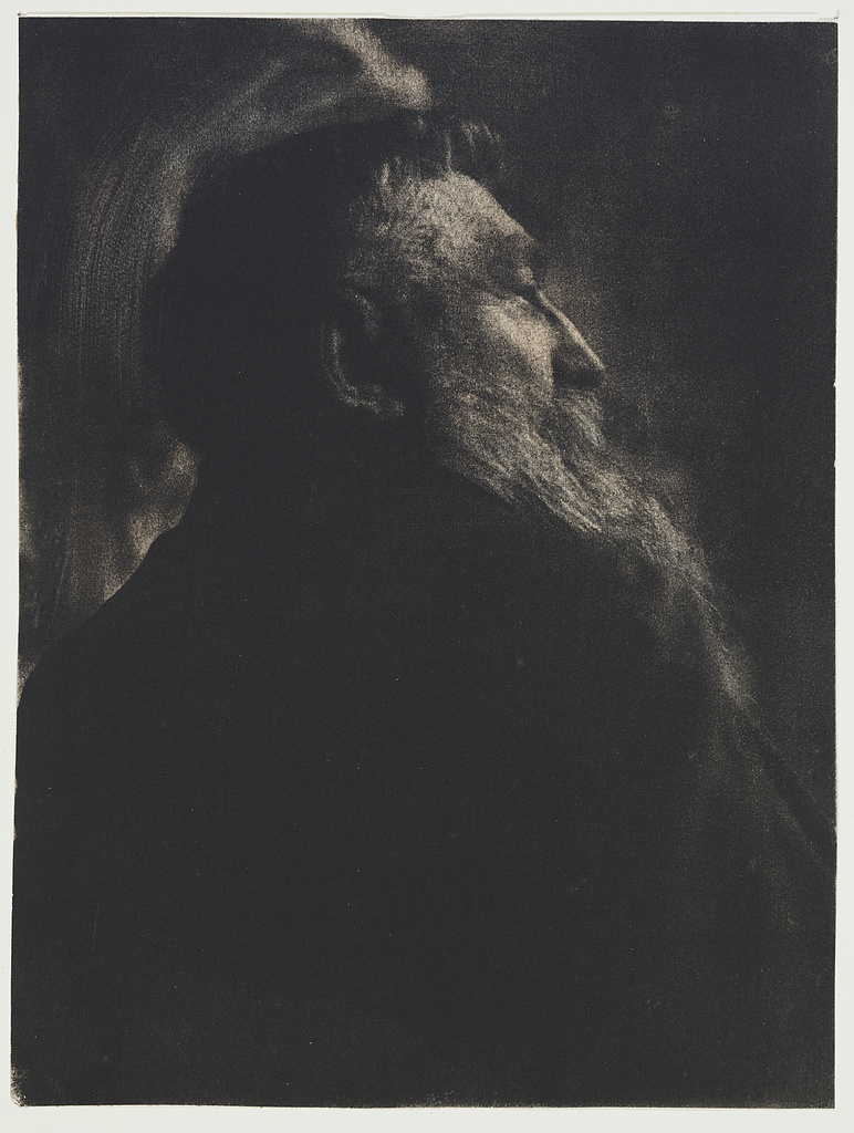 Portrait of August Rodin / Gertrude Käsebier.