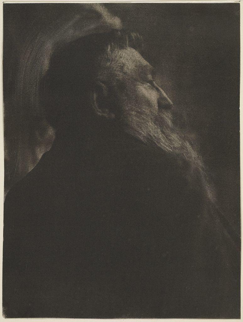 Portrait of August Rodin / Gertrude Käsebier.