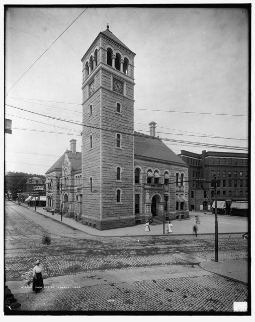 Post office, Lowell, Mass.