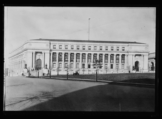 [Post Office, Massachusetts Avenue, N.W., Washington, D.C.]
