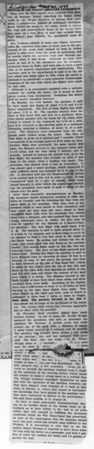 Progress of the Wright Aeroplane Experiments [Scientific American, 1908]