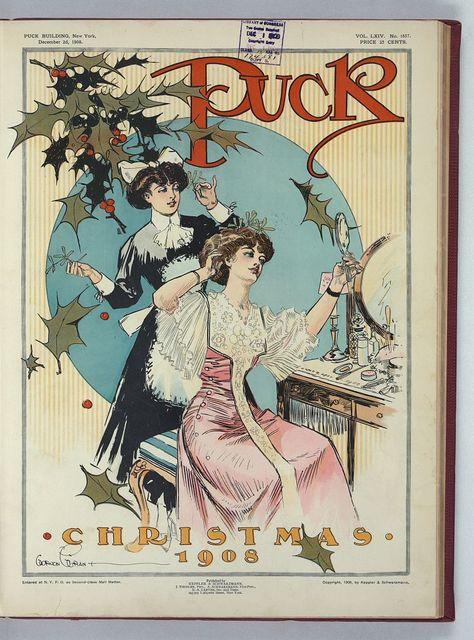 Puck Christmas 1908 / Gordon Grant.