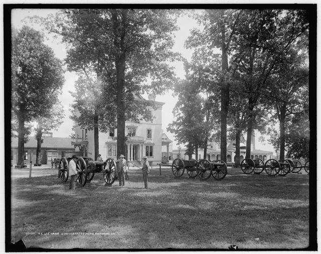 R.E. Lee camp, Confederates' [i.e. Confederate Soldiers'] Home, Richmond, Va.