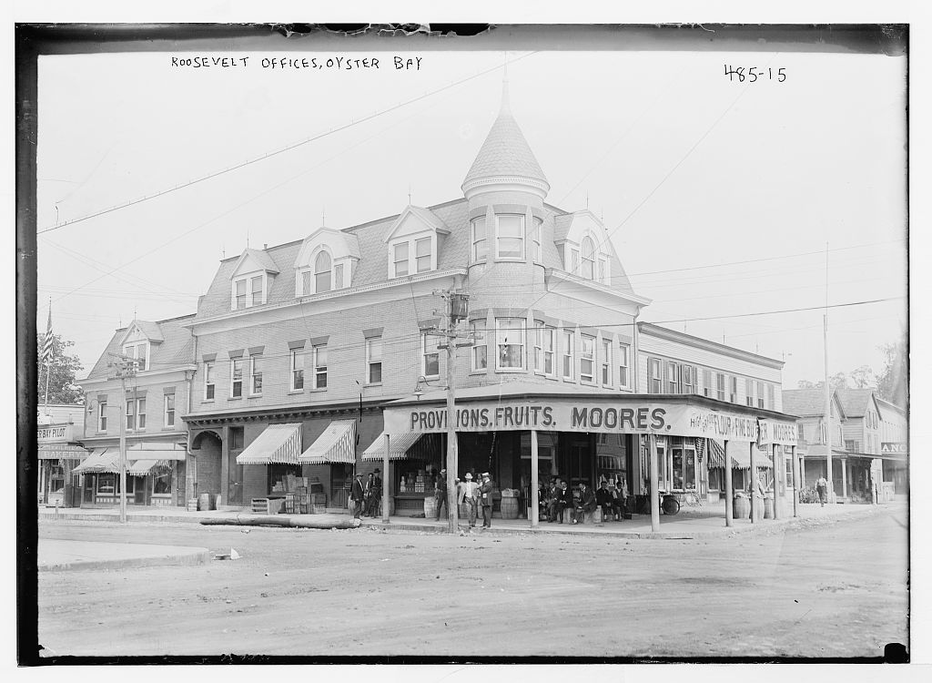 Roosevelt offices, Oyster Bay