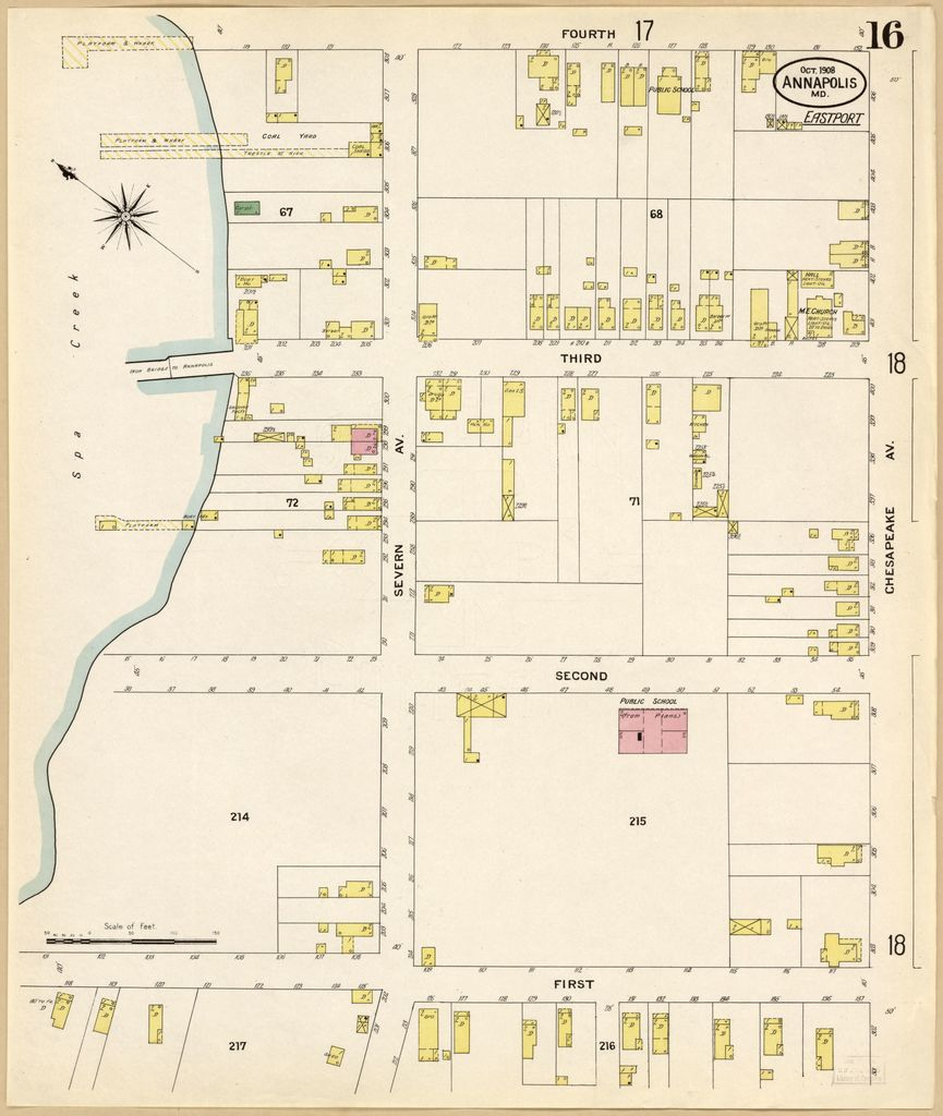 Sanborn Fire Insurance Map from Annapolis, Anne Arundel ... on annapolis map, prince william county map, prince george's county map, frederick county map, howard county md map, arundel mills map, cass county map, harford county map, baltimore map, maryland county map, prince george co. md map, burke county map, calvert county map, glen burnie map, queen anne map, montgomery county map, carroll county map, arundel md map, ellicott city map, johnson county map,