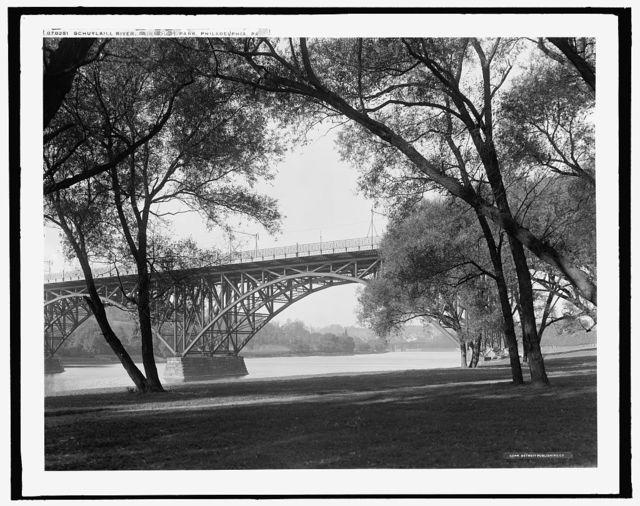 Schuykill [i.e., Schuylkill] River, Fairmount Park, Philadelphia, Pa.