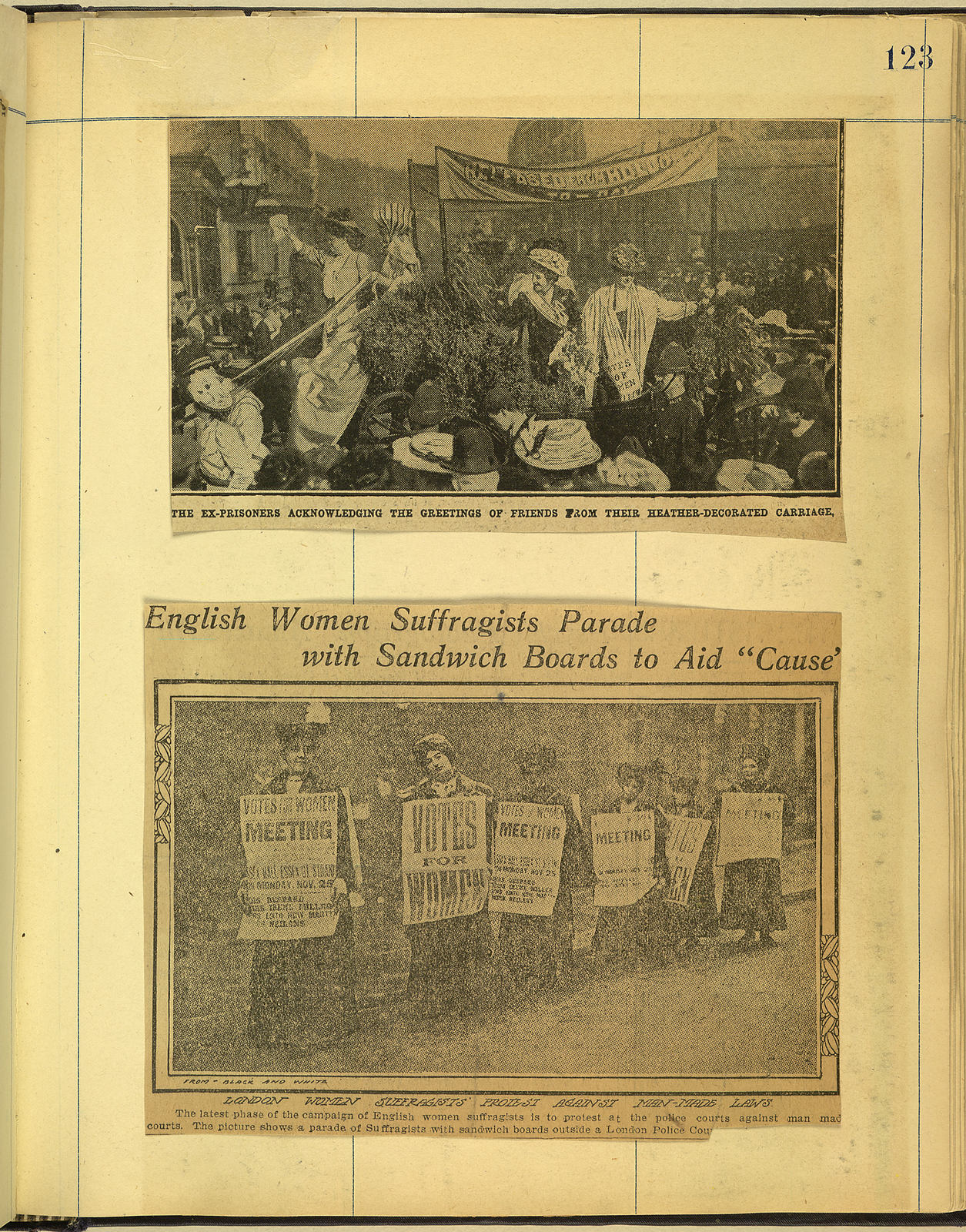 Scrapbook 1908-1909