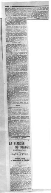 SI W. Wright Avait- Il aurait gag...neavant Farman le pol Deutsch-Archdeacon [10 August 1908]