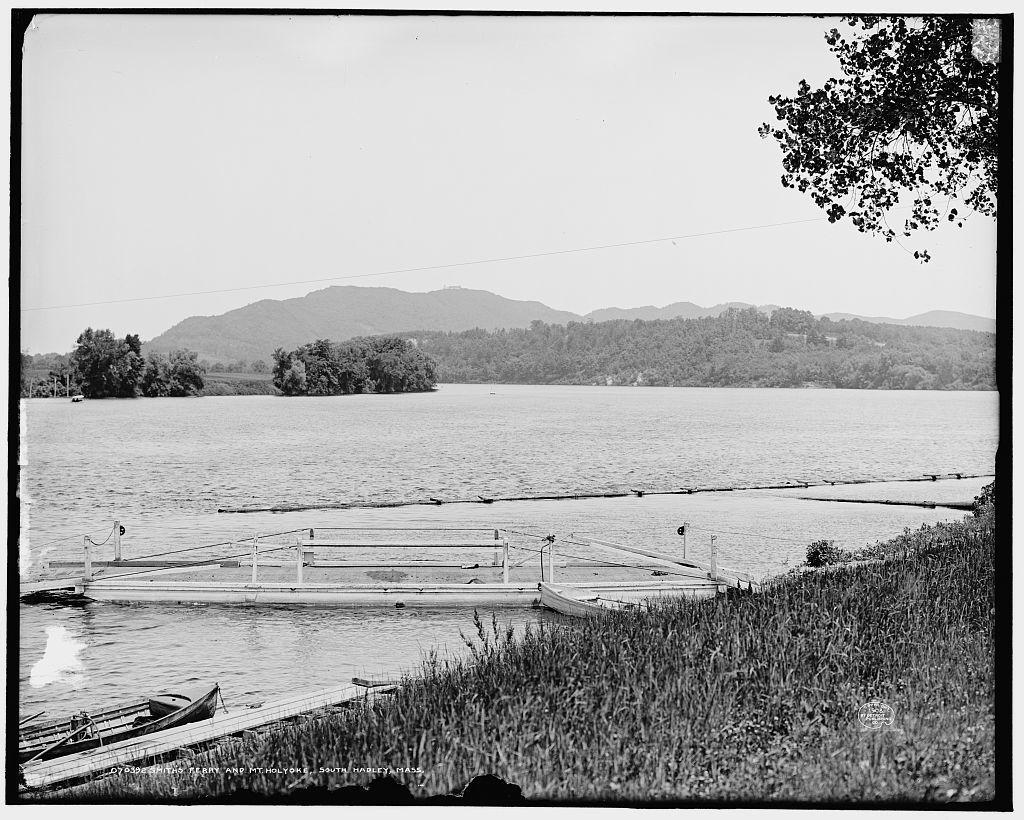 Smith's Ferry and Mt. [Mount] Holyoke, South Hadley [i.e. Holyoke], Mass.
