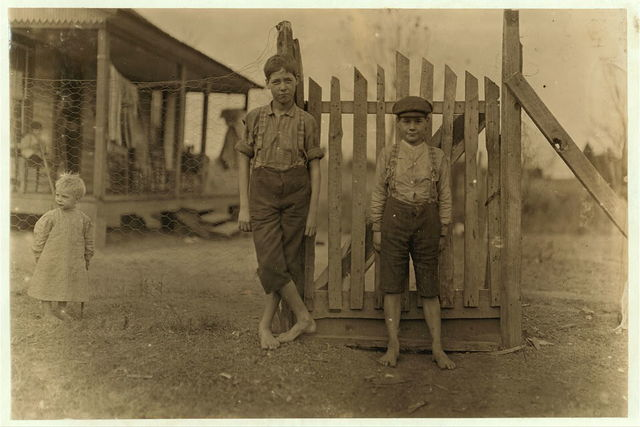 """Springstein Mills, Chester, S.C. Otis Mehaffy. 4 years in mill. Small boy """"helps sister"""" Saturdays and after school. Witness S.R. Hine.  Location: Chester, South Carolina."""