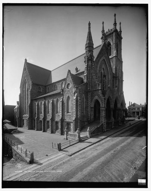 St. Paul's Church, Worcester, Mass.