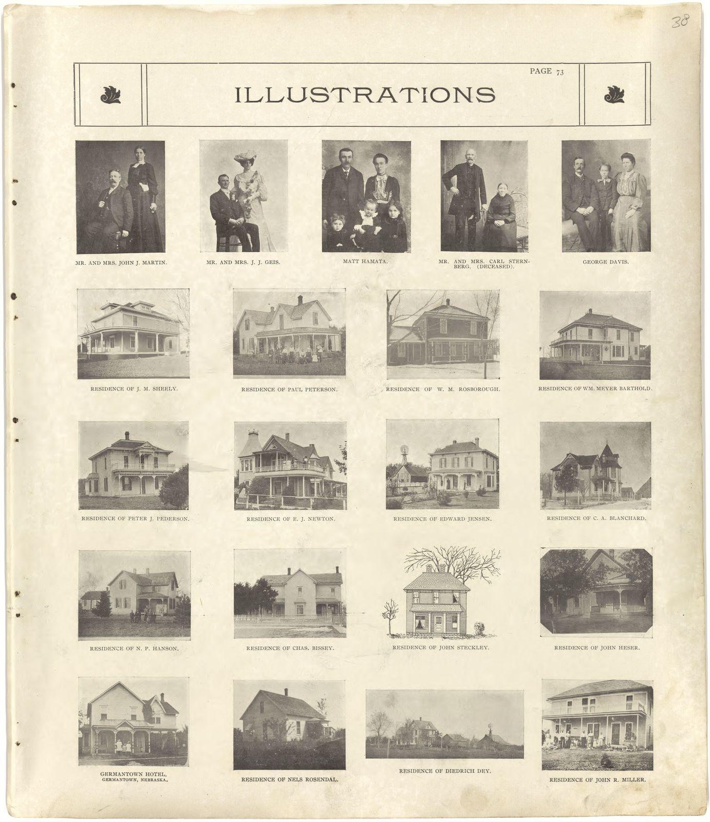 Standard Atlas Of Seward County Nebraska Including A Plat Book Of - Us-map-1908