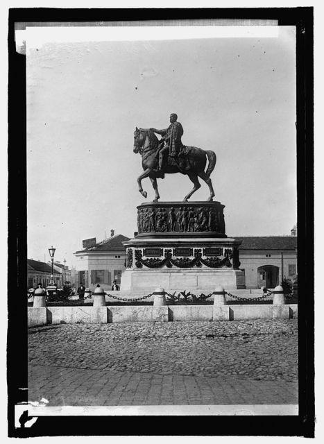 Statue of Prince Michael at Belgrade