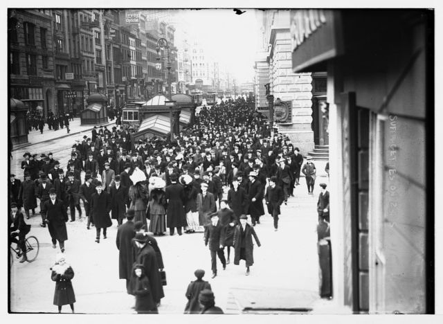 Suffragettes on 23rd St., New York